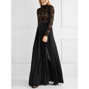 Forever 21 Black Lace Maxi Dress